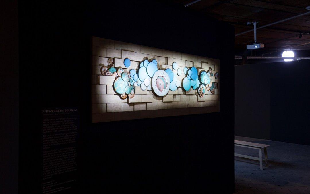 """Ausstellung """"Wundermaschine – Reale Virtualität"""" im Gaskessel Wuppertal 2019"""