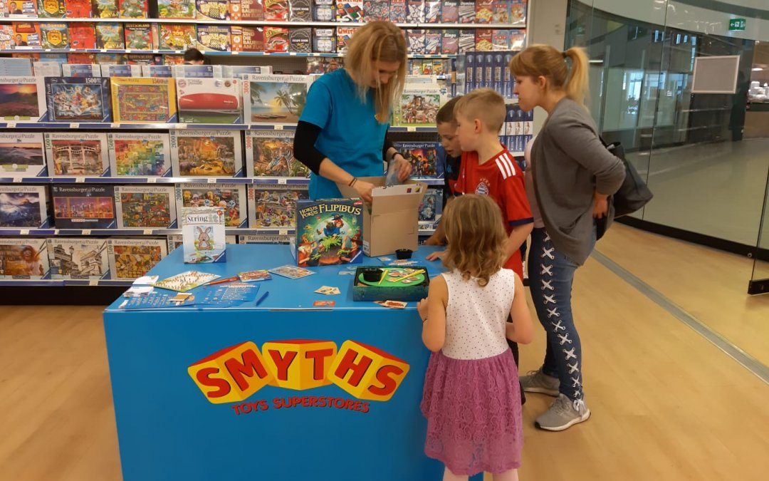 Symths Toys GmbH – In-Store Promotion 2019