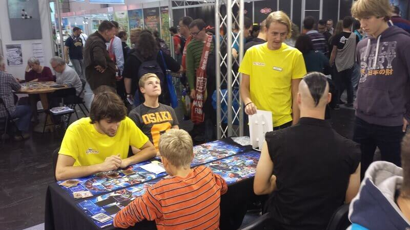 KONAMI – International Game Days at Essen 2014