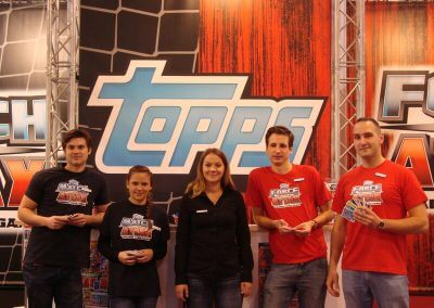 Fair stand for Universal Trends & Topps Germany 2012