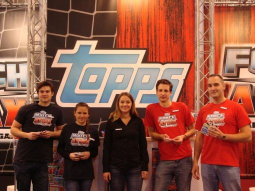 Fair stand for Universal Trends & Topps Germany
