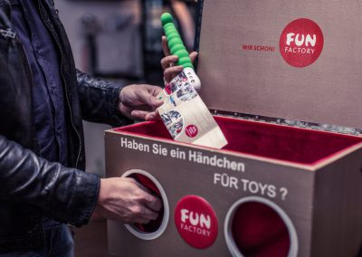 Fun Factory – Fühlbox Kneipenpromotion 2015