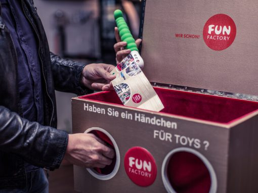 Fun Factory – Fühlbox Kneipenpromotion
